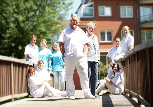 Team der Zahnarztpraxis